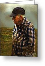 A Lifetime In The Fields Greeting Card by RC deWinter