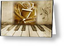 Music Of The Night Greeting Card
