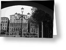 A Local View Of Venice Greeting Card