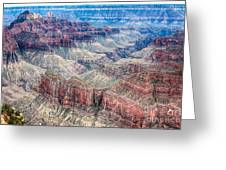 A Look Into The Grand Canyon  Greeting Card