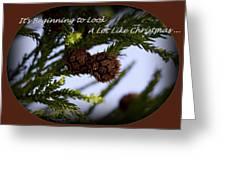 A Lot Like Christmas Greeting Card