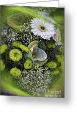 A Lot Of Green Greeting Card