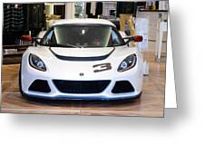 A Lotus Exige S Greeting Card