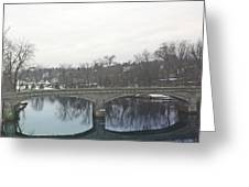 A Lovely Reflective Travel Scene Greeting Card
