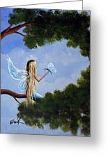 A Magical Daydream Original Artwork Greeting Card