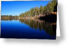 A Mammoth Lake Greeting Card