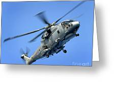 A Merlin Helicopter Greeting Card