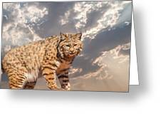 A Mighty Hunter Greeting Card