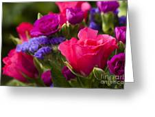 A Mixed Bouquet Greeting Card