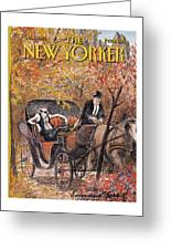 New Yorker October 5th, 1992 Greeting Card