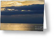A Moray Firth Sunset Greeting Card