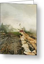 A Morning In Maine Greeting Card by Darren Fisher