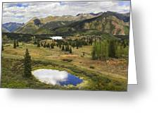 A Mountain Drive In Colorado  Greeting Card