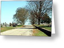 A Narrow Walk Greeting Card
