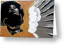 A Natural Angel Greeting Card