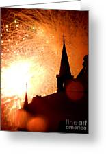 New Orleans St. Louis Cathedral A New Day A New Year In Louiisana Greeting Card