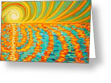 A New Day Is Dawning Greeting Card
