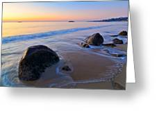 A New Day Singing Beach Greeting Card