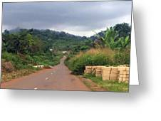 A Nice Nigerian Road Greeting Card