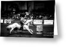 A Night At The Rodeo V33 Greeting Card
