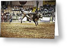 A Night At The Rodeo V36 Greeting Card