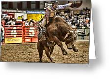 A Night At The Rodeo V6 Greeting Card