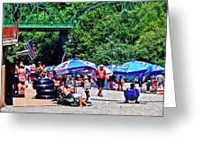 A Norcal River Beach Greeting Card