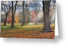 A November Morning Greeting Card