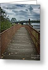 A Pathway To Philadelphia Greeting Card