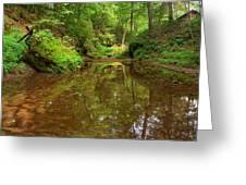 A Peaceful Glen Greeting Card