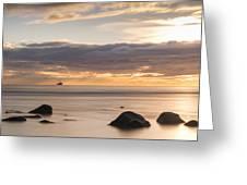 A Peaceful Sunrise Greeting Card