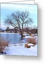 A Peaceful Winter Day Greeting Card