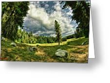 A Peacful Yosemite Day Greeting Card