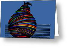 A Pear 2002 Greeting Card