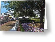 A Perfect Day On The Boardwalk Walt Disney World Greeting Card