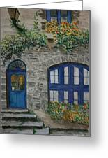 A Picturesque Corner Of France Greeting Card