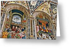 A Piece Of The Piccolomino Greeting Card