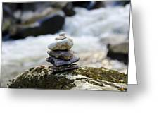 A Pile Of Stones Greeting Card