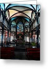 A Place Of Faith Greeting Card by Kim Lagerhem