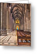 A Place Of Worship Greeting Card