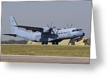 A Polish Air Force C-295m Taking Greeting Card