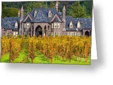 The Ledson Castle - Kenwood, California Greeting Card