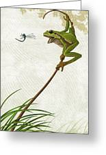 A Propitious Wind Greeting Card