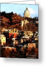 A Providence Hillside Greeting Card