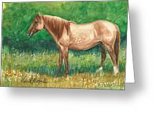 A Quiet Place Greeting Card by Linda L Martin