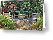 A Quiet Place To Meet Greeting Card
