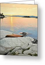 A Quiet Time Greeting Card by Kenneth M  Kirsch