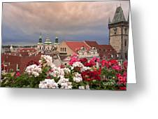 A Rainy Day In Prague 2 Greeting Card