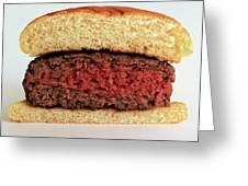 A Rare Hamburger Greeting Card
