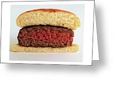 A Rare Hamburger Greeting Card